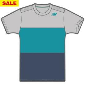 【SALE】ニューバランス ショートスリーブカラーブロックゲームTシャツ(JMTT9135-RCD)[New Balance MS メンズ]