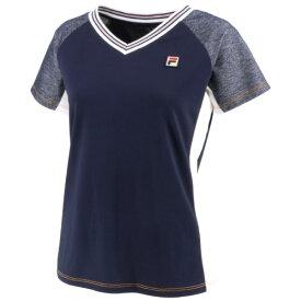 フィラ ゲームシャツ(VL2091-20)[FILA LS レディース]