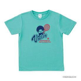 モンチッチスポーツ テニスTシャツ(M0004-MINTGREEN)[MONCHIICHI SPORTS MS ユニセックス]