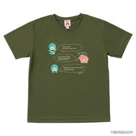 モンチッチスポーツ Tシャツ(M0043-OLIVE)[MONCHIICHI SPORTS MS ユニセックス]