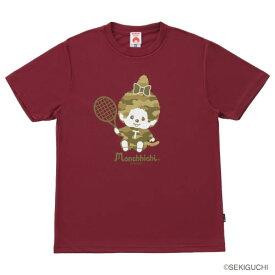 モンチッチスポーツ Tシャツ(M0047-BURGUNDY)[MONCHIICHI SPORTS MS ユニセックス]