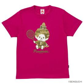 モンチッチスポーツ Tシャツ(M0047-SHOCKPINK)[MONCHIICHI SPORTS MS ユニセックス]
