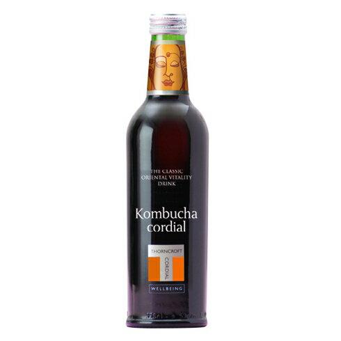 HERB CORDIAL ハーブコーディアルkombucha コムブッカ 375mlコンブチャ 紅茶きのこ ハーブ飲料 ハーブドリンク 美容 健康 濃縮 ビタミン ミネラル お茶 ハーブティー ソーンクロフト タルゴ