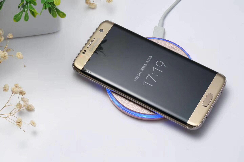 iphonex Qi 充電器 iphone8 ワイヤレス充電 ワイヤレス充電器 iphone8 plus iphone8plus 急速 ワイヤレス 充電 galaxy s8 s8+ note8 s7 edge スマホ スマートフォン USB供電 充電パッド メール便 送料無料