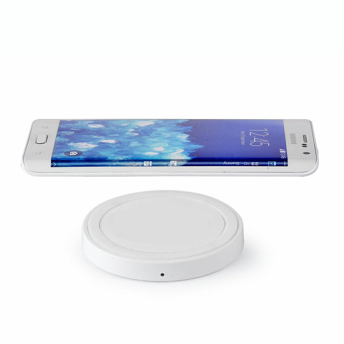 Qi 充電器 Galaxy S6 edge ワイヤレス充電 ワイヤレス充電器 ワイヤレス 充電 SC-04G/SCV31/Galaxy S6 SC-05G スマホ スマートフォン USB供電 Qi充電パッド 無線充電器 ワイヤレスチャージャー メール便 送料無料