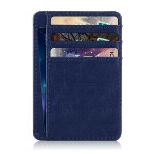 スキミング防止 磁気防止 RFID カードケース メンズ レディース スリム カード入れ 薄型 コンパクト カード収納 ポケット 磁気 スキミング 防止 カード・ケース メール便 送料無料