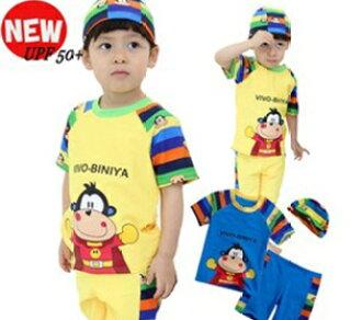 0b0d6ea49 Arrival at boy swimsuit boy swimming cap swimsuit set bathing suit child  water child swimsuit,
