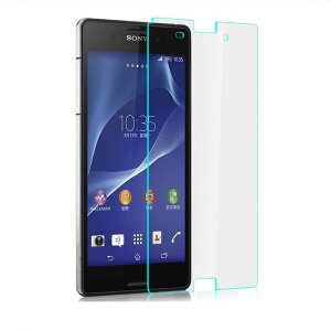 Xperia Z2 保護フィルム ガラスフィルム フィルム ガラス  強化ガラス SO-03F 9H 液晶保護フィルム XperiaZ2 メール便 送料無料
