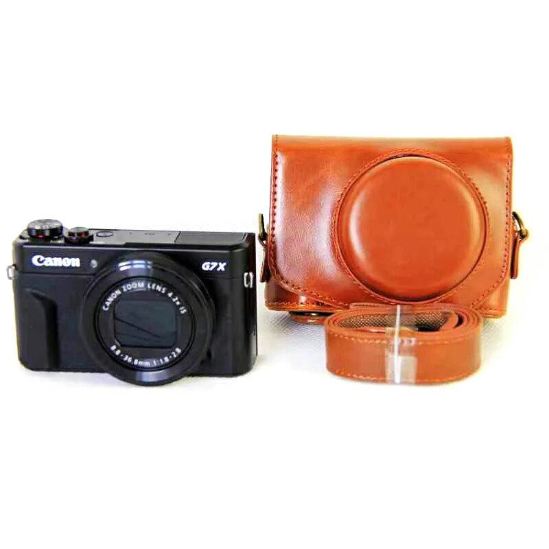 Canon PowerShot g7x mark2 ケース g7 x mark ii カメラケース カバー カメラーカバー バック カメラバック キャノン G7XM2 G7XMii 合成革ケース