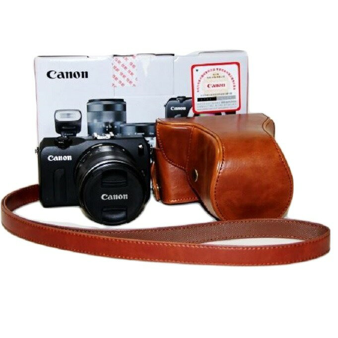 CANON EOS M ケース EOS M2 カメラケース カバー カメラーカバー バック カメラバック キャノン 一眼 三脚使用可能 ネジ穴装備 EOSM EOSM2 送料無料 メール便