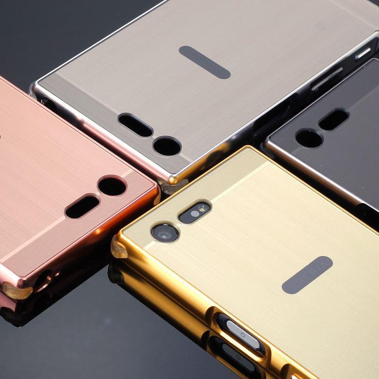Xperia X Compact ケース docomo SO-02J カバー バンパー アルミ バンパーケース メール便 送料無料