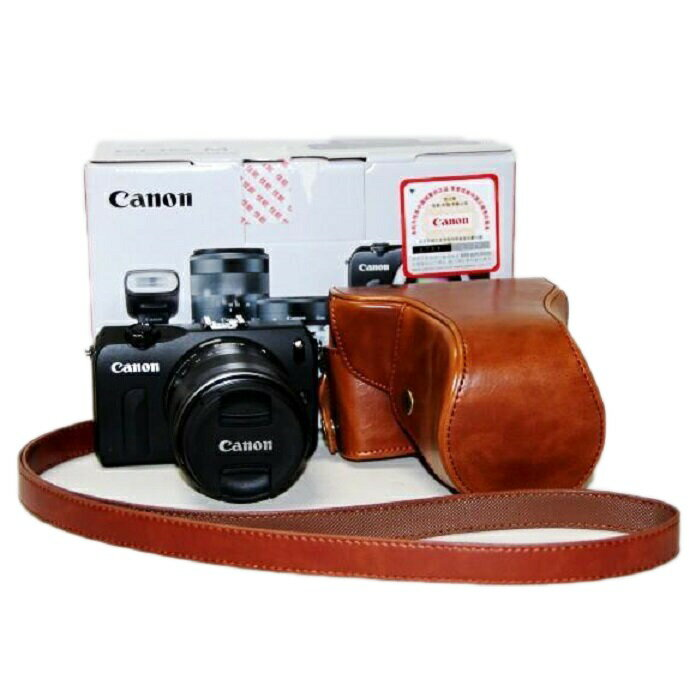 CANON EOS M EOS M2 カメラケース ケース カバー カメラーカバー バック カメラバック 一眼 レフデジタルカメラ用 一眼レフ デジカメ キャノン 一眼レフ デジタルカメラ用 ネジ穴装備 ストラップ 送料無料 メール便