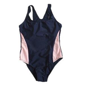 (ヘラサ)Herasa 水着 女の子2-6歳 子供水着 ワンピース 女児水着 保育園 キッズスクール水着 (90-110cm 110-120cm)