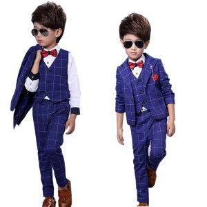 子供 スーツ 男の子 キッズ 子供スーツ 送料無料 {6点セット}キッズスーツ 子ども 子どもスーツ こどもスーツ フォーマル フォーマルスーツ 結婚式 発表会 福袋 6点セット 子供用スーツ 七五