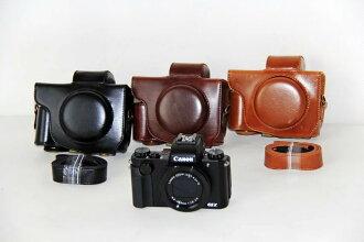Canon PowerShot G5 X카메라 케이스 G5X 케이스 커버 카메라-커버 백 카메라 백 캐논 카메라 외눈 합성가죽 케이스 디지탈카메라용 02 P03Dec16