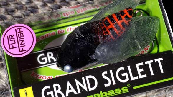 メガバス (Megabass)GRAND SIGLETT (グランドシグレ)FF クロアゲハ