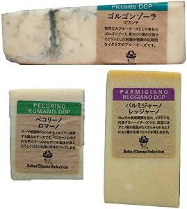 イタリア チーズ 詰め合わせ 3種セット お得 パルミジャーノレッジャーノ ペコリーノロマーノ ゴルゴンゾーラピカンテ
