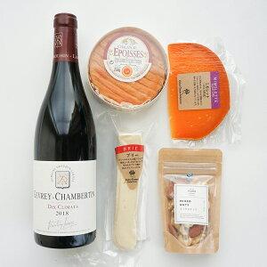 ブルゴーニュ 赤ワイン エポワス チーズ 高級 フランス ギフト セット wine cheese