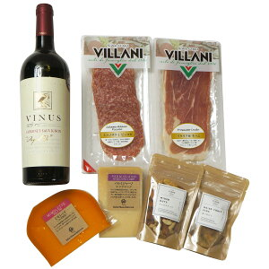 南フランス 赤ワイン おつまみ6種セット チーズ ナッツ ドライフルーツ パルミジャーノ ミモレット ミックスナッツ いちじく