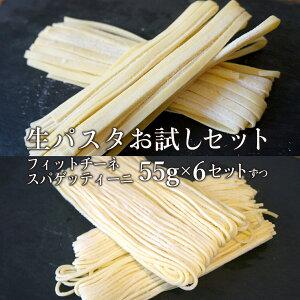お試し 冷凍 生パスタ スパゲティーニ フィットチーネ 無添加 プロ 飲食店用 55g 12セット