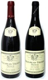 ルイジャドボージョレヌーヴォー2020通常品・ノンフィルター飲み比べ2本セットボジョレーヌーボーフランスワイン 産地 ブルゴーニュ 赤ワイン 家飲み お誕生日 ギフト お祝い ワインセット