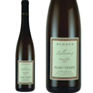 マルク・テンペツェレンベルクピノグリ2017 フランスワイン 産地 アルザス 白ワイン 家飲み イエノミ お誕生日 ギフト 750mlマルクテンペ