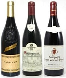 アンリ・ジャイエの後継者ブルゴーニュ・ワイン3本セット・クロード・デュガ・シャルロパン・マルサネ・ジャエイジル