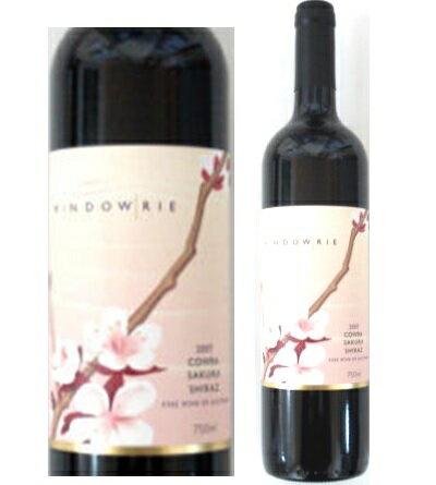 ウインダウリウッドブロック 桜(サクラ)シラーズ2016sakura オーストラリアワイン 産地 赤ワイン お誕生日 ギフト お祝い お花見 夜桜にワイン