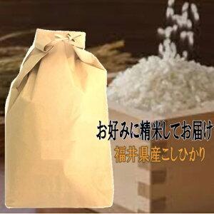 玄米仕立 福井県産コシヒカリこしひかり令和元年産玄米10kgお好みに精米してお届け【送料無料 一部除く】