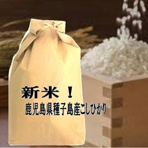 玄米仕立 鹿児島県種子島産コシヒカリこしひかり令和2年産玄米10kgお好みに精米してお届け【送料無料 一部除く】
