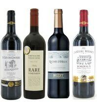 金賞受賞赤ワイン4本セットベルノー、コンフレリ、レア・カリニャン、ビュゼ
