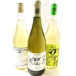 ビオカレンダー付き!自然派ビオ白ワイン3本セット・ルタンデジタン・ヴァンクールヴァンキュ・セ・ビアン・コムサVol.7【送料無料 一部除く】