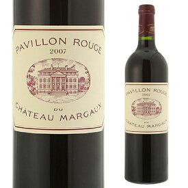 パヴィヨン ルージュ デュ シャトー マルゴー[2007][格付 1級][ボルドー][セカンド][赤ワイン]<P7対象外>