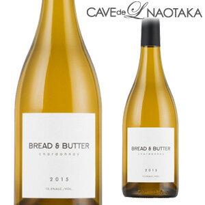 ブレッド & バター [2016] シャルドネ 750ml[カリフォルニア][白ワイン]