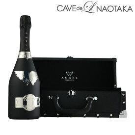 【P7倍】エンジェル シャンパン ブリュット ブラック NV BOX 750ml [正規品][シャンパン][シャンパーニュ][限定品][白泡]P期間:5/8〜16まで