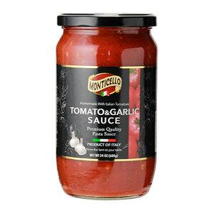 パスタソース トマト&ガーリック 680g 瓶 単品販売オルティチェロ orticello tomato and garlic sauce pastasauce セット イタリア 長S