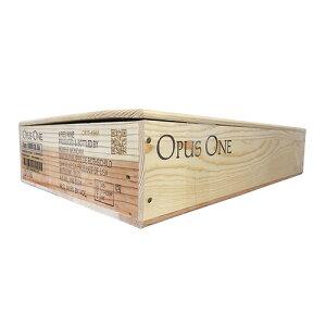 送料無料 ワイン木箱 1箱 オーパスワン(蓋あり、仕切りなし) 平箱【DIY D.I.Y.】【他商品同梱不可】【包装不可】【種類選択不可】虎