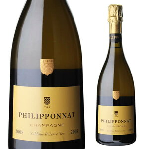 【P10倍】フィリポナ シュブリム レゼルヴ セック ミレジメ 2008 750ml シャンパン シャンパーニュ4/4〜/5まで