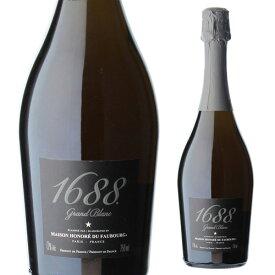1688 グラン ブラン 高級ノンアルコール スパークリング Grand Blanc フランス産 750ml ノンアルコールワイン アルコールフリー Alc.0.00% 虎姫
