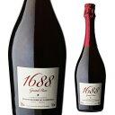 1688 グラン ロゼ 高級ノンアルコール スパークリング Grand Rose フランス産 750ml ノンアルコールワイン シャンパン…