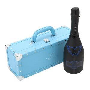 【P7倍】【正規品エンジェルシャンパン】送料無料エンジェル シャンパンヘイロー ブルー (青) NV 750ml BLUE BOX 専用箱入りシャンパン シャンパーニュ 光るボトル ルミナスP期間:9/18〜26まで