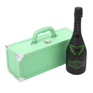 【1,000円OFFクーポン】【正規品エンジェルシャンパン】送料無料エンジェル シャンパンヘイローグリーン (緑) NV 750ml GREEN BOX 専用箱入りシャンパン シャンパーニュ 光るボトル ルミナス3/1限