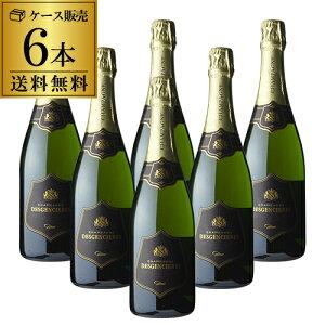 1本当り2,000円(税別) 送料無料 デジャンシエール ブリュット NV 750ml 6本 シャンパン シャンパーニュ ケース 長S
