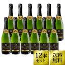 グラン デルミオ スパークリング ブリュット 750ml 12本セット 送料無料 スパークリングワイン スペイン 白 辛口 BR…