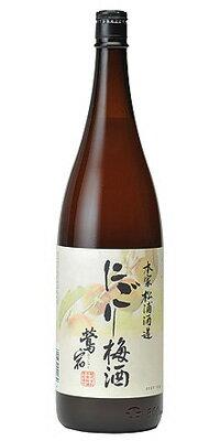 【ポイント5倍(11日AM2時まで)】松浦 にごり梅酒/本家松浦酒造 1800ml (梅酒)