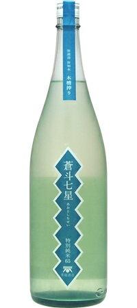 【ポイント5倍(21〜25日)】蒼斗七星 特別純米65木槽搾り/青砥酒造 1800ml (地酒)