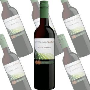 【ポイント2倍(19日朝10時まで)】オールド・ヴァイン ジンファンデル カリフォルニア/ペッパーウッド・グローヴ 750ml×6本 (赤ワイン)