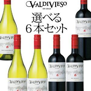 チリワイン・バルディビエソ選べる6本セット!コスパ抜群のチリワインを自由に組み合わせよう! 750ml×6本