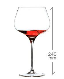 ロナ RONA スタイリッシュ ブルゴーニュ 720ml(RONA)1脚 (ワイングラス RONAシリーズ カリスマ Charisma) (1脚につき、ワイン(=750ml)10本と同梱可)