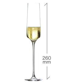 ロナ RONA スタイリッシュ シャンパーニュ 190ml(RONA)1脚 (ワイングラス RONAシリーズ カリスマ Charisma) (ワイン(=750ml)11本と同梱可) [Y]